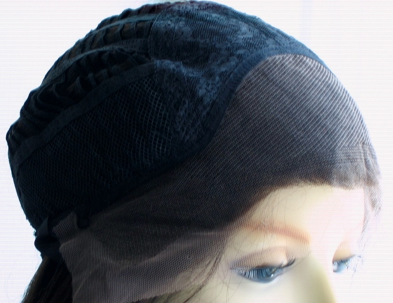 Lace Cap Wigs: Capless lace front wig without combs
