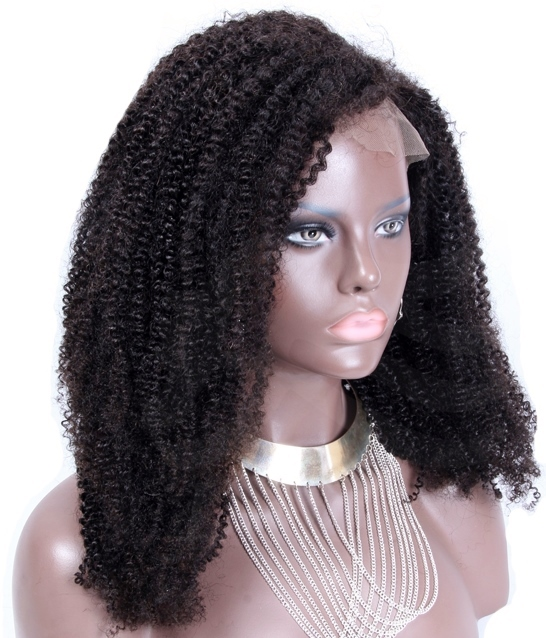 African American Lace Front Wigs - Afro Curl