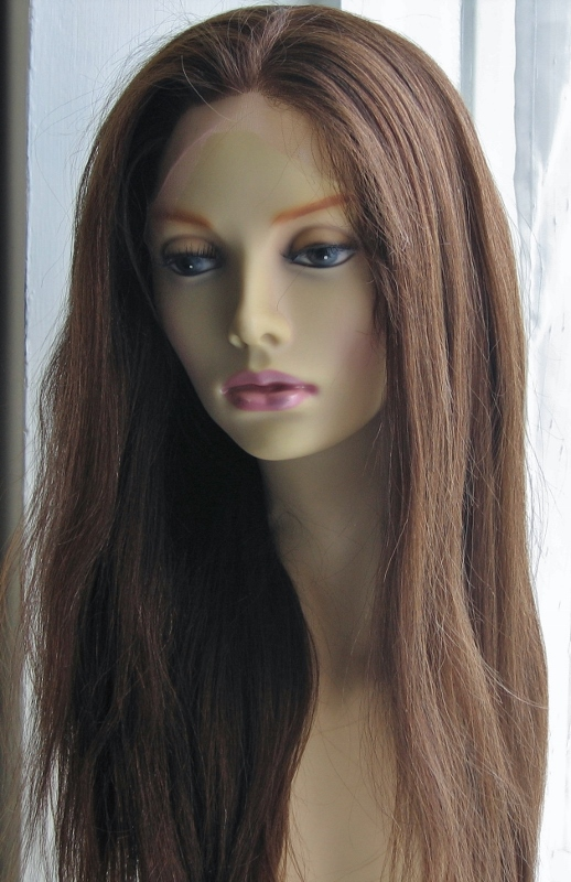 African American Lace Wigs - Yaki Straight