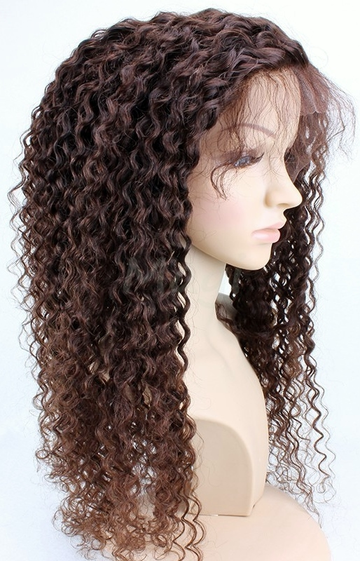 Dye my lace front wig - kinky curly