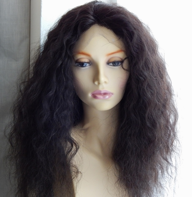 Wig Care Deep Wave Hair Brushed Out
