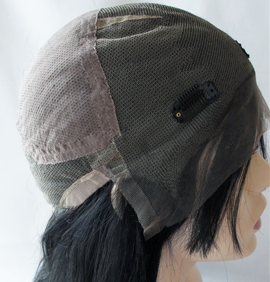 full lace cap wig - no adhesive required -