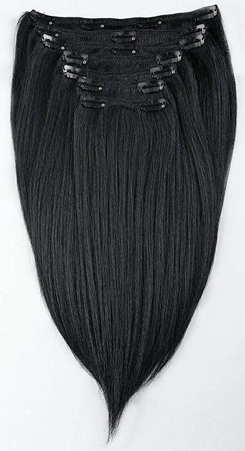 Yaki Straight Clip Hair Extensions