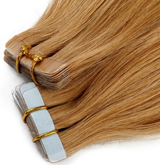 Adhesive Tape Skin Weft Hair Extensions