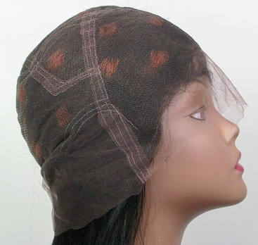 Full lace wig - adhesive required