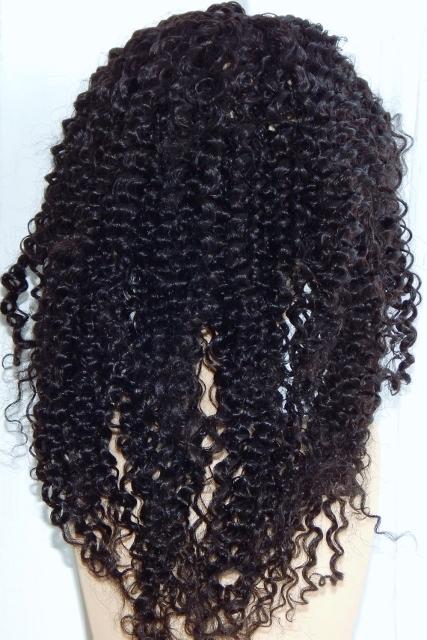Kelly - 18 Inch Kinky Curl Back