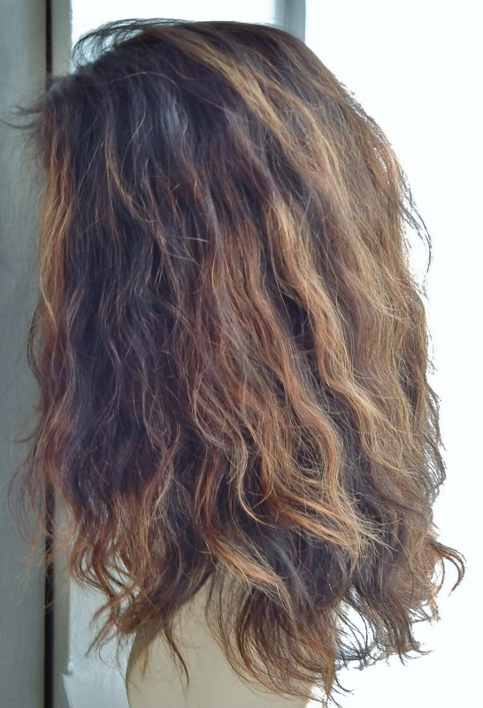 Lace wig texture: water wave