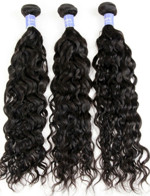 Water wave weave hair