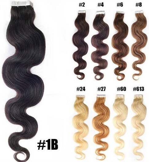 Tape Extensions Texture: Body Wave