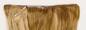 Bonding glue on sew in hair weave extensions