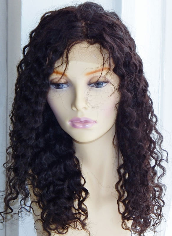 18 Inch Deep Wave Lace Front Wig