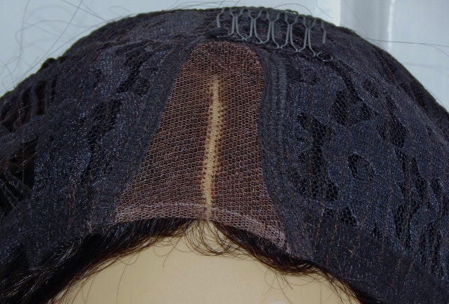 V-Lace Front Wig: Vicki- 18 Inch Loose Curl Parting