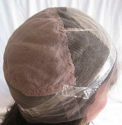 Full lace cap wigs with thin skin perimeter, stretch at crown and silk base