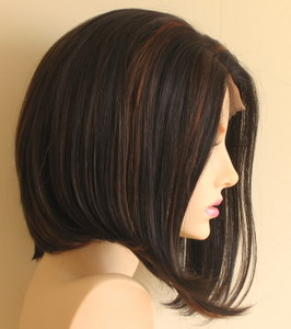 Synthetic lace front wig - bob