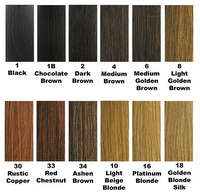 Colour Chart for Wigs for Black Women01
