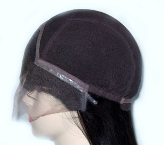Lace cap wigs: lace front wig with stretch lace cap