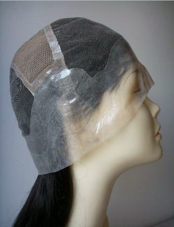 Full lace cap wigs with thin skin perimeter