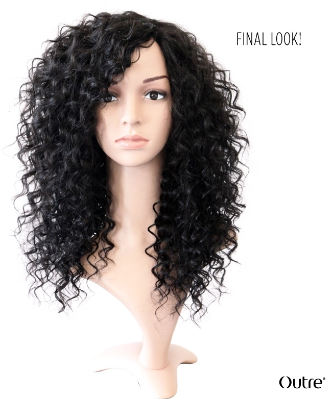 How to make a wig - final product