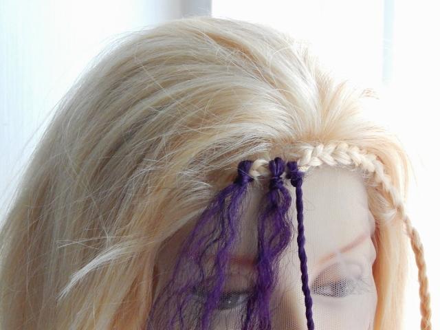 Crochet braids step by step