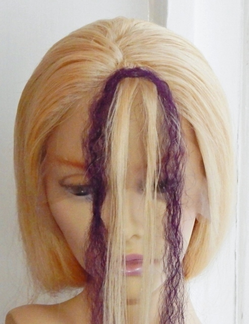 Twist braid hair extensions qa attach and twist hair braiding step 2 folded hair extensions over the top of sectioned hair pmusecretfo Image collections