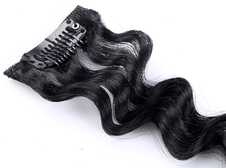 Deep Wave Clip Hair Extensions