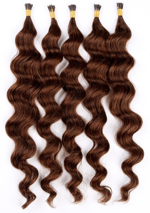 Water Wave Micro Loop Human Hair Extensions