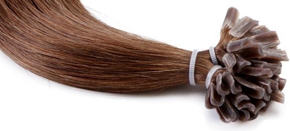 U-tip (aka Nail Tip or V-tip) Pre Glued Hair Extensions