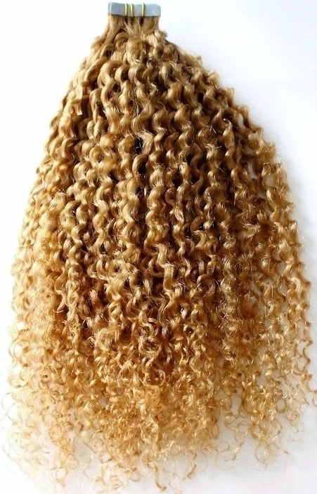 Loose Afro Curl Tape In Hair