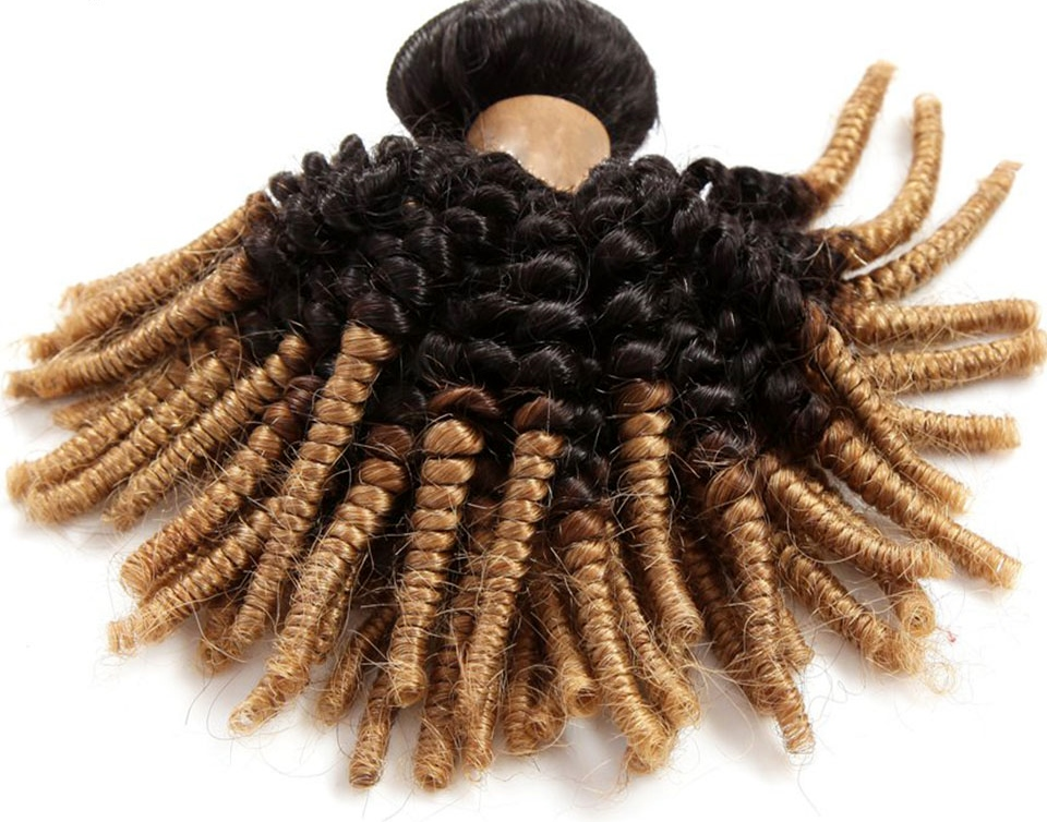 Ombre Afro Weave Hair
