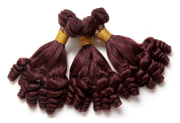 African American Hair Extensions - Drop Curl Hair Weave