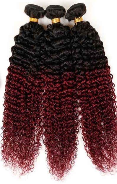 Afro Hair Extensions - Kinky Curly Hair Weave