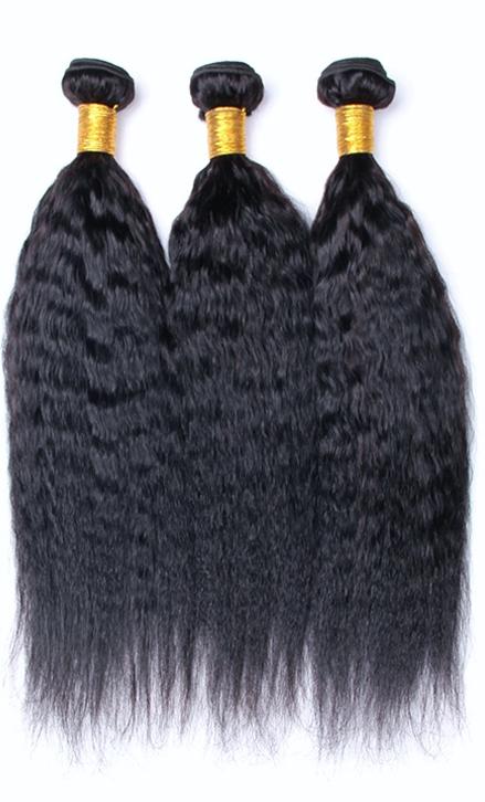 African American Hair Weave - Kinky Straight Hair Weave