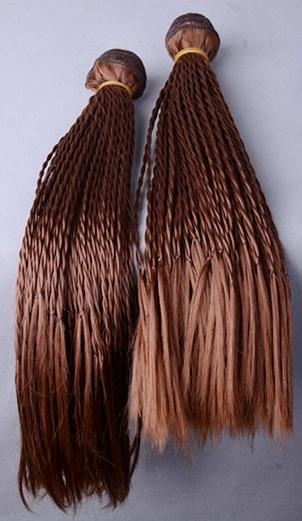 Braided Hair Weave - Micro-twist Weave