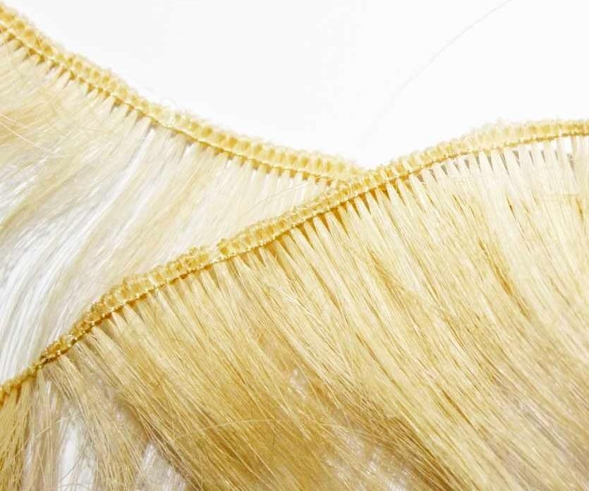 Single Tied Hair Weave