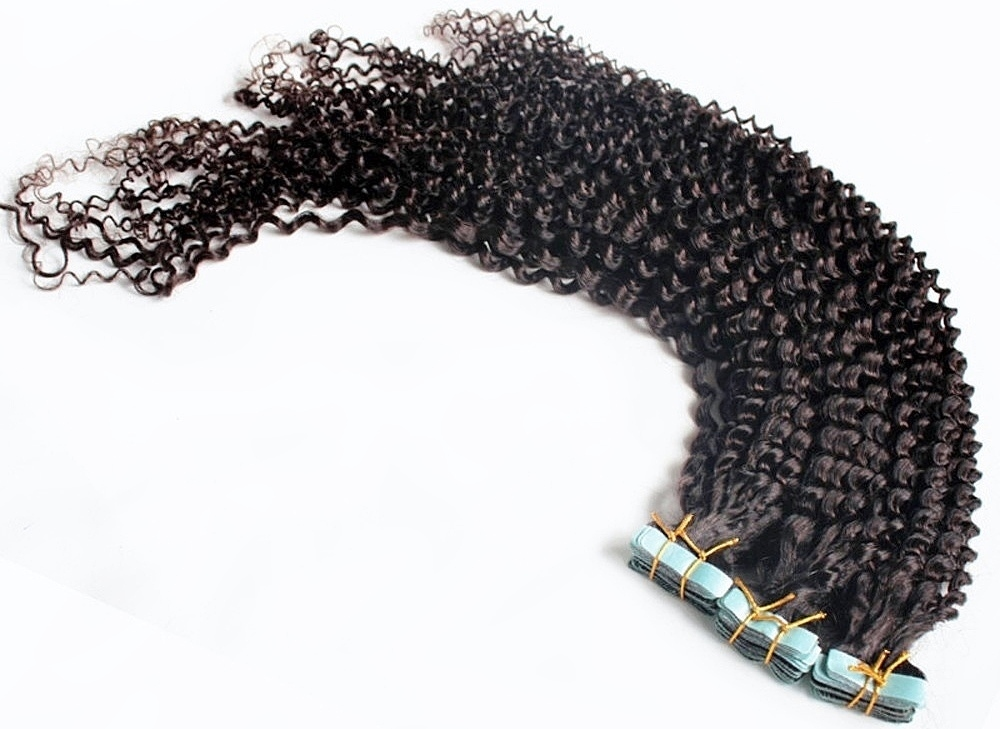 Afro Curl Tape in Hair Extensions