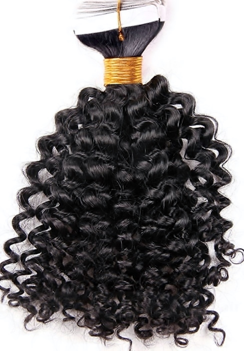 Curly Tape In Hair Extensions