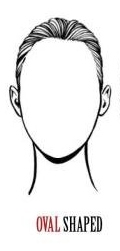 Oval wigs by face shape