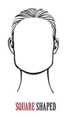 Square shaped face - wigs by face shape