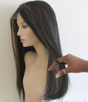 Detangling micro ring hair extensions with fingers