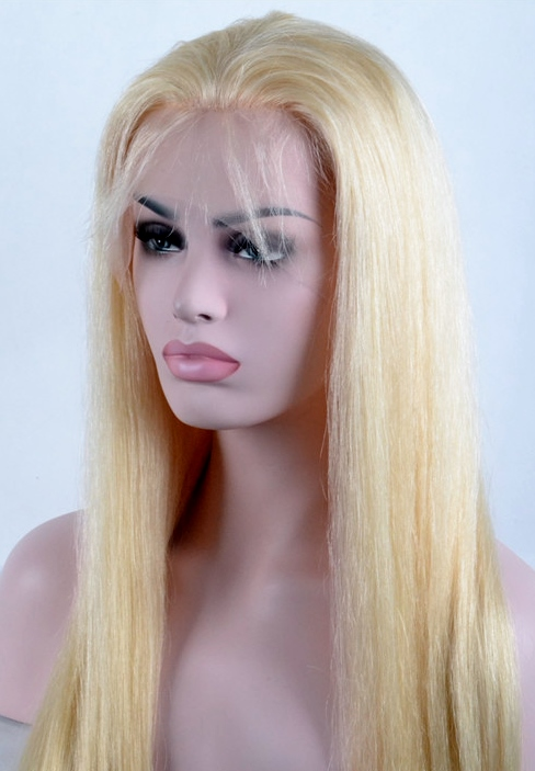 Platinum Blonde Lace Wig