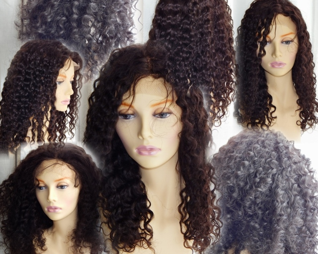 20 Inch Deep Wave Lace Front Wig