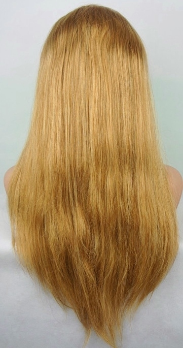 Dark Blonde Lace Front Wig
