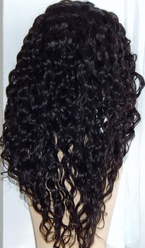 Water Wave Lace Front Wig Back