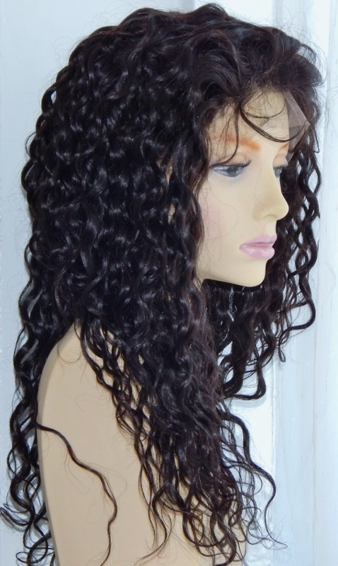 Water Wave Lace Front Wig Profile