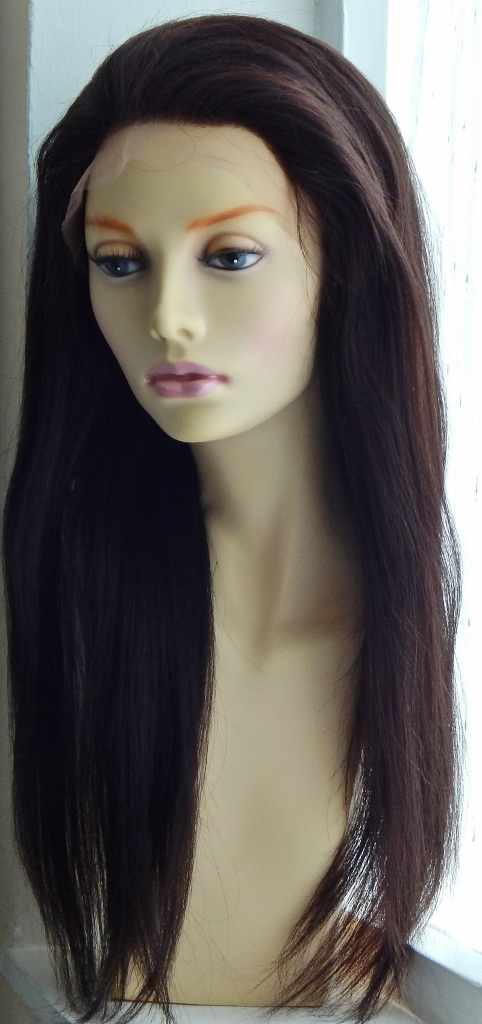 Relaxed Straight (Yaki)Lace Front Wig