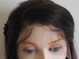 Full lace wig with baby hair