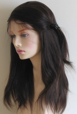 Light Yaki Straight Lace Wigs