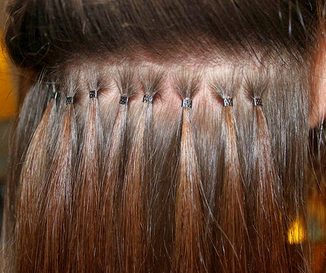 Micro Ring Human Hair Extensions