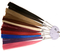 Colour ring options for custom lace wigs