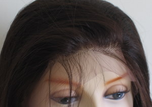 Light Yaki Straight Synthetic Lace Front Wigs